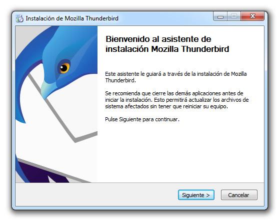 configurar email thunderbird windows apple macintosh